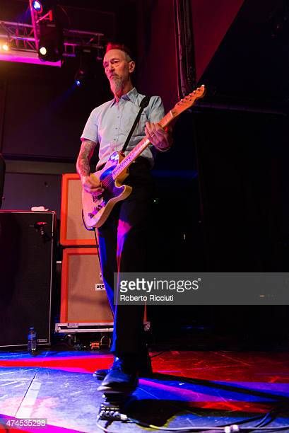 Norman Westberg of Swans performs on stage at Glasgow Art School on May 23, 2015 in Glasgow, United Kingdom