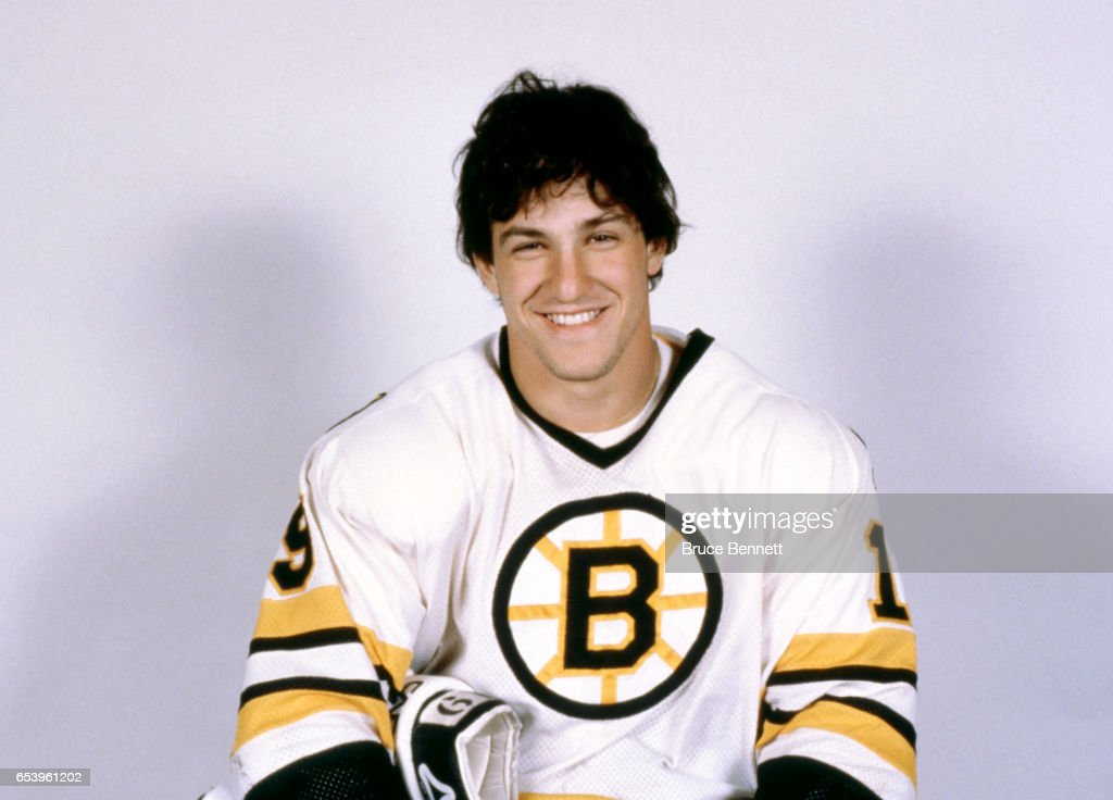 Normand Leveille #19 of the Boston Bruins poses for a portrait circa September, 1982 in Boston, Massachusetts.