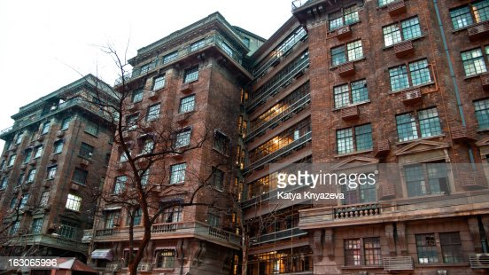 Normandie Apartments French Concession Shanghai Stock Photo | Getty Images