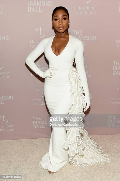 Normani attends Rihanna's 4th Annual Diamond Ball benefitting The Clara Lionel Foundation at Cipriani Wall Street on September 13, 2018 in New York...