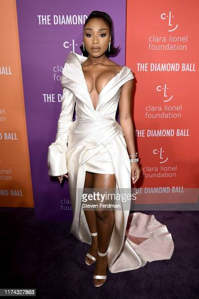 Normani attends Rihanna's 5th Annual Diamond Ball at Cipriani Wall Street on September 12 2019 in New York City