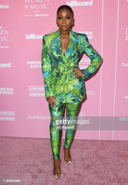 Normani attends the 2019 Billboard Women In Music at Hollywood Palladium on December 12 2019 in Los Angeles California