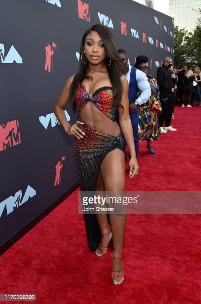 Normani attends the 2019 MTV Video Music Awards at Prudential Center on August 26 2019 in Newark New Jersey