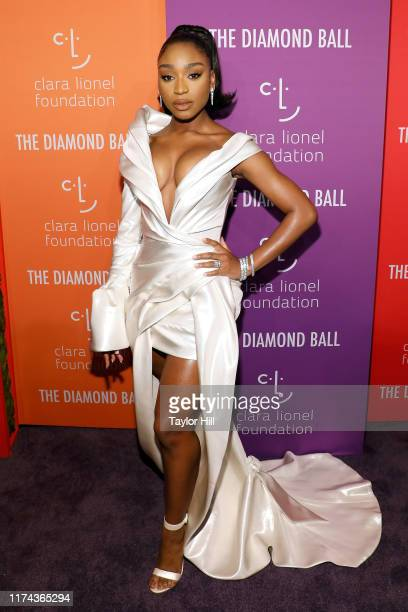 Normani attends the 5th Annual Diamond Ball benefiting the Clara Lionel Foundation at Cipriani Wall Street on September 12 2019 in New York City
