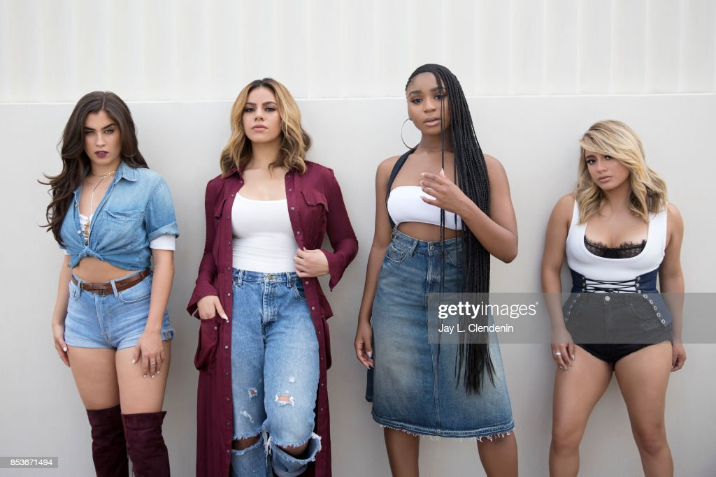 Normani Kordei, Ally Brooke, Dinah Jane, Lauren Jauregui of the band Fifth Harmony are photographed for Los Angeles Times on August 1, 2017 in Los Angeles, California. PUBLISHED IMAGE.