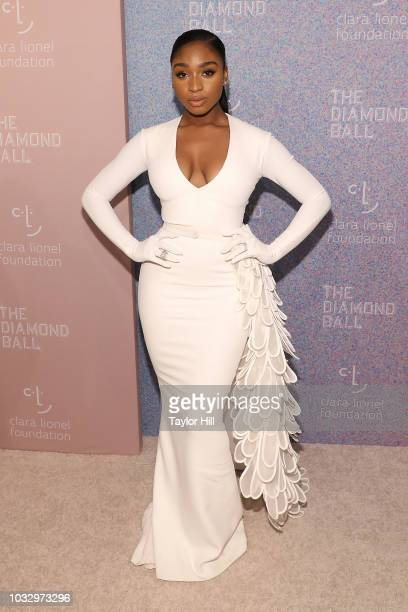 Normani Kordei attends the 2018 Diamond Ball at Cipriani Wall Street on September 13 2018 in New York City