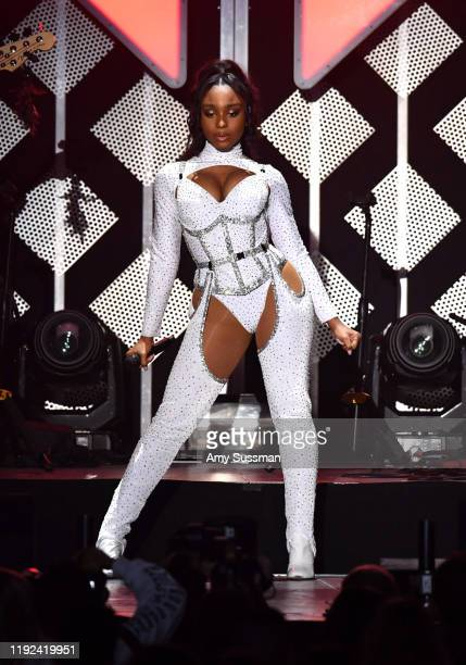 Normani performs onstage during KIIS FM's Jingle Ball 2019 presented by Capital One at The Forum on December 06 2019 in Inglewood California