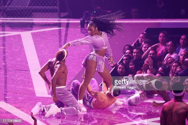 Normani performs onstage during the 2019 MTV Video Music Awards at Prudential Center on August 26 2019 in Newark New Jersey