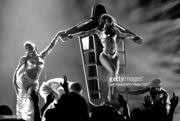 Normani performs onstage during the 2021 MTV Video Music Awards at Barclays Center on September 12, 2021 in the Brooklyn borough of New York City.