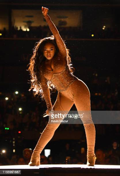 Normani performs onstage during the Sweetener World Tour at Barclays Center on June 14 2019 in New York City