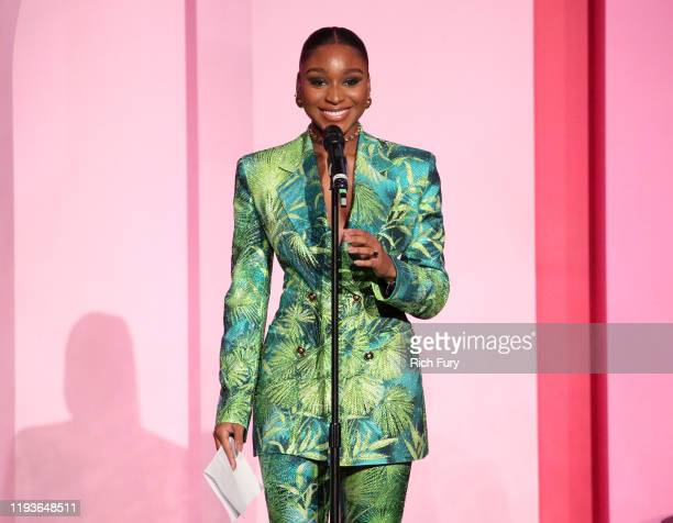 Normani speaks onstage during Billboard Women In Music 2019 presented by YouTube Music on December 12 2019 in Los Angeles California
