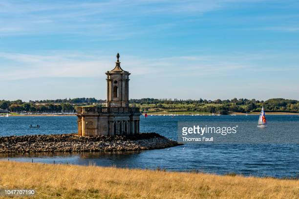 Normanton Church on Rutland Water, Leicestershire