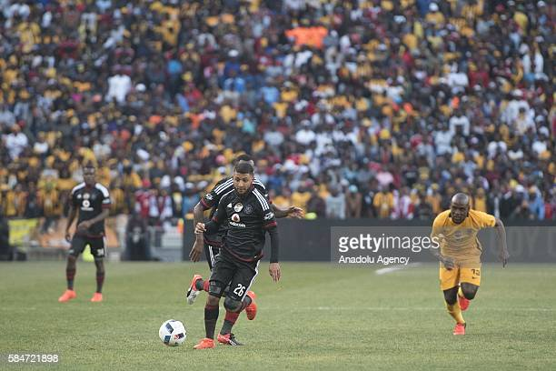Norodien Riyaad of Orlando Pirates in action during 2016 Carling Black Label Cup between Kaizer Chiefs FC and Orlando Pirates at FNB Stadium in...