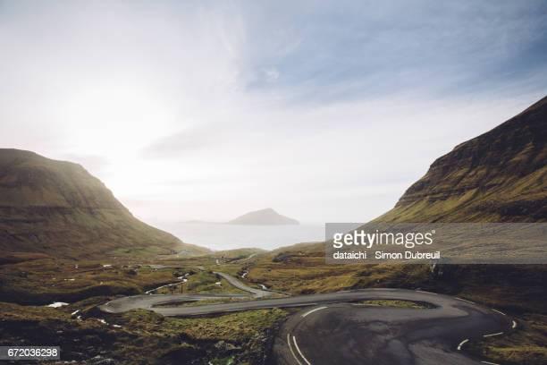 Norðradalur winding road
