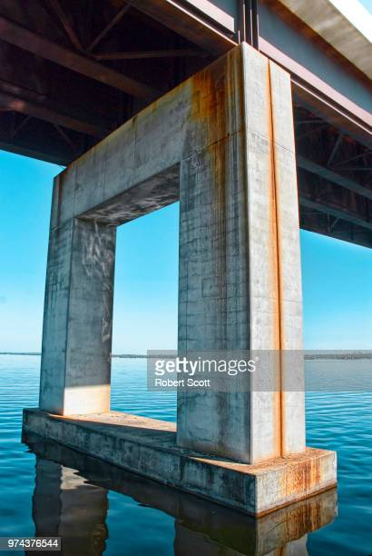 norris-whitney bridge - robert norris stock photos and pictures