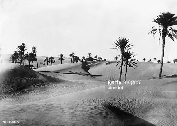 Sahara desert probably in the 1910s