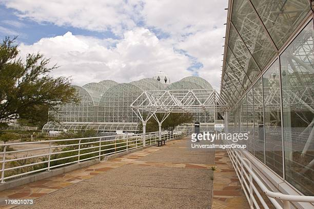 North America Arizona Oracle Biosphere 2 Habitat and West Side of Rainforest