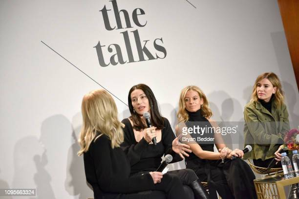 SVP North America Marketing for Visa Mary Ann Reilly CEO Founder of Reformation Yael Aflalo Creative Director Founder of Milly Michelle Smith and...