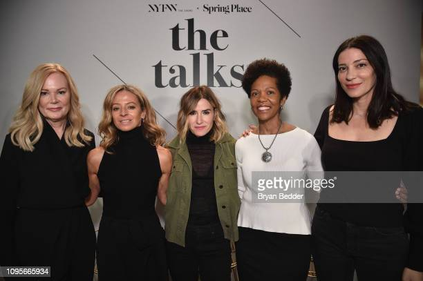 SVP North America Marketing for Visa Mary Ann Reilly Creative Director Founder of Milly Michelle Smith DryBar Founder Alli Webb Wells Fargo SVP...