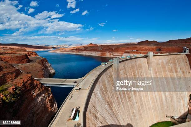 North America USA Arizona Page Glen Canyon Dam