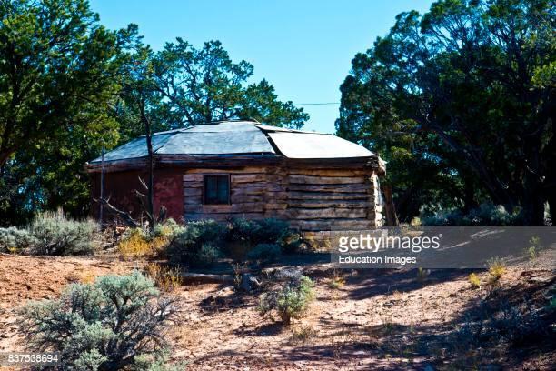 North America USA Arizona Tsegi Navajo National Monument Historic Ranger Station