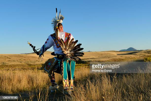 North America, USA, Great Plains, Montana, Bear Paw Battlefield, Nez Perce National Historic Park, Robert Yellowhawk, Lakota, MR 0596.