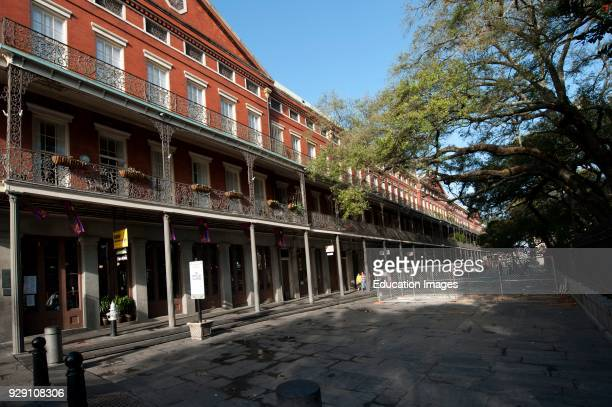 North America USA Louisiana New Orleans French Quarter Saint Ann St Pontalba Buildings