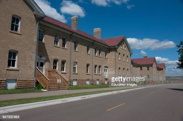 North America USA Minnesota Minneapolis Fort Snelling 19401960 Army Barracks Buildings 17 and 18