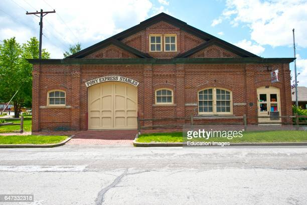 North America USA Missouri St Joseph Original Pony Express Stable and Museum