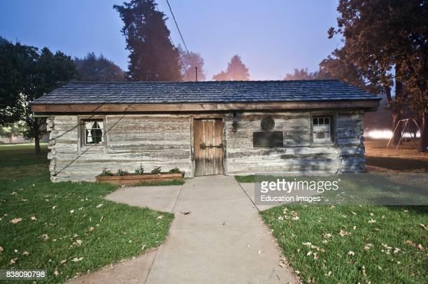 North America USA Nebraska Gothenburg Original Relocated Pony Express Station