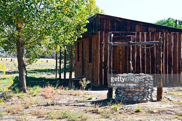 North America USA New Mexico Bloomfield Salmon Ruins Peter Milton Salmon Pioneer Homestead Complex Trading Post