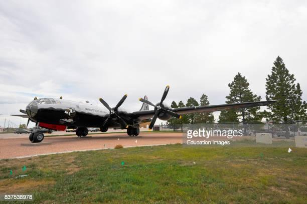 North America USA South Dakota Box Elder Ellsworth Air Force Base Air Space Museum B29