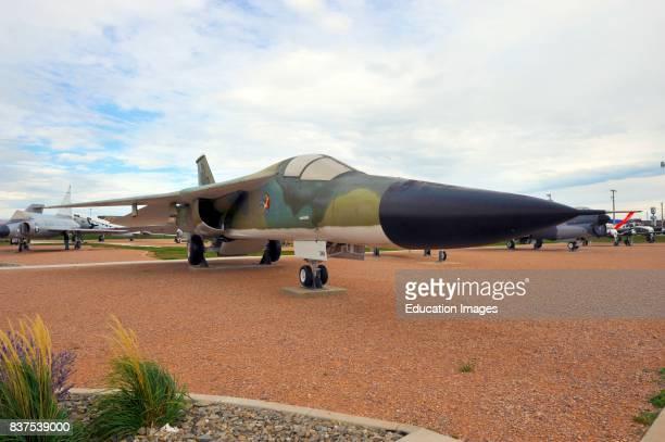 North America USA South Dakota Box Elder Ellsworth Air Force Base Air Space Museum F111 Aardvark interceptor