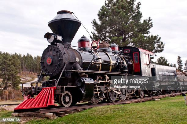 North America USA South Dakota Hill City 1880 train Steam Locomotive