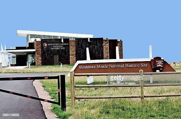 North America USA South Dakota Wall Minuteman Historic Site Visitor Center