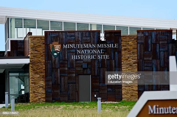 North America USA South Dakota Wall Minuteman Missle National Historic Site Visitor Center