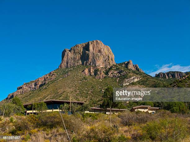 North America, USA, Texas, Big Bend National Park, Chisos Mountains, Casa Grande.