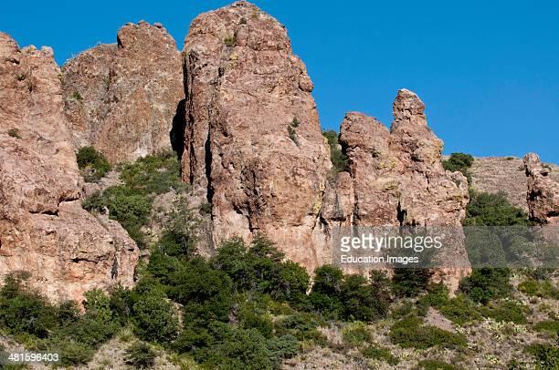 North America, USA, Texas, Big Bend National Park, Chisos Mountains, Pulliam Ridge.