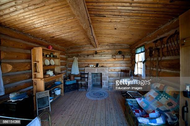 North America USA Utah Bluff Fort Bluff Mormon Pioneer Mission living Quarters