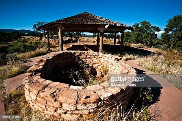 North America, USA, Utah, Cedar Mesa Mule Canyon Anasazi Ruin, Tower.