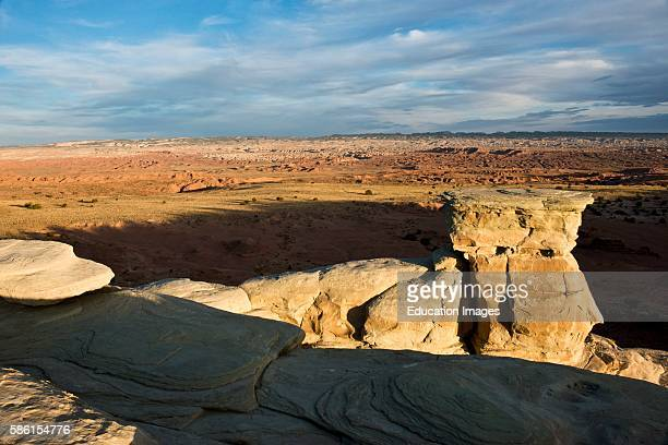 North America USA Utah Emery Early Castle Valley Historic Early Mormon Settlement Sphinx Rock