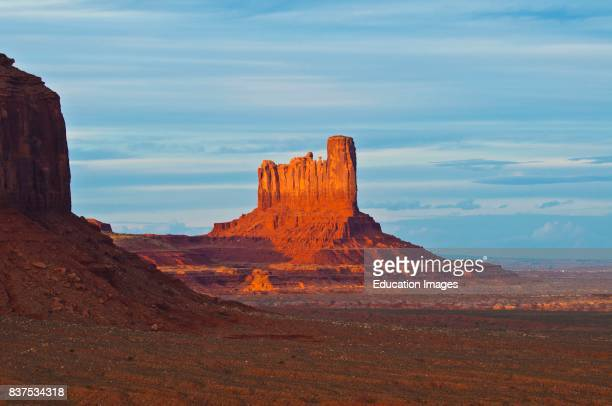 North America USA Utah Gouldings Navajo Tribal Park Monument Valley Stagecoach and Castle Buttes