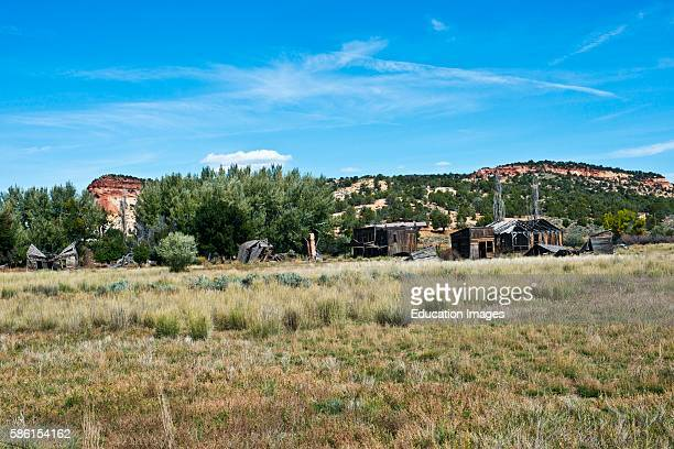 North America USA Utah Kanab Johnson Canyon abandoned Gunsmoke movie set