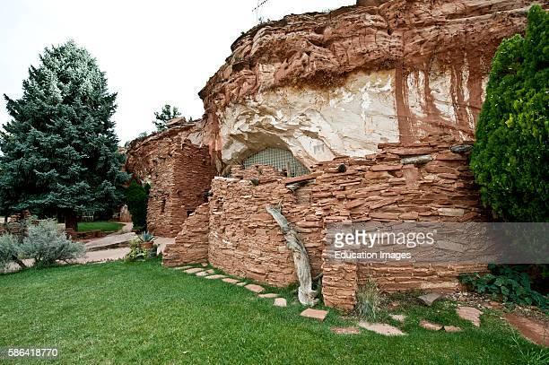 North America USA Utah Kanab Moqui Cave Museum and Gift Shop