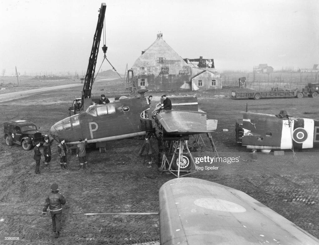 Mitchell Bomber Repairs : News Photo