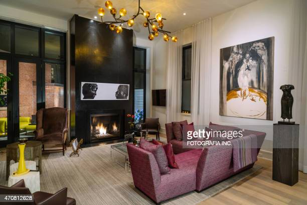 North American Luxury Wohnung interior