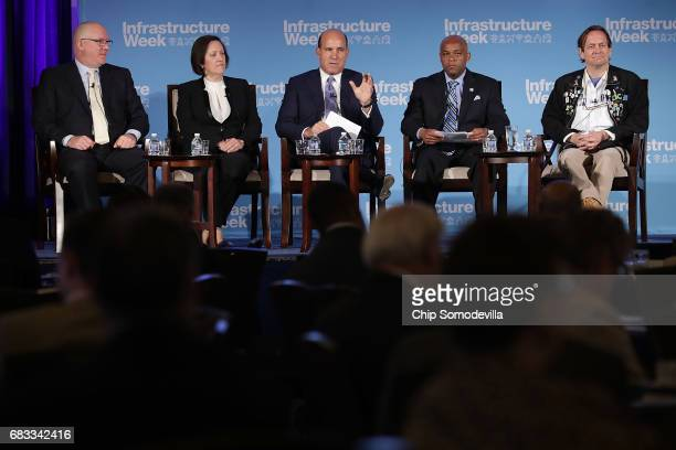 North America's Building Trades Unions President Sean McGarvey Siemens USA President and CEO Judith Marks AECOM Chairman and CEO Michael Burke Denver...