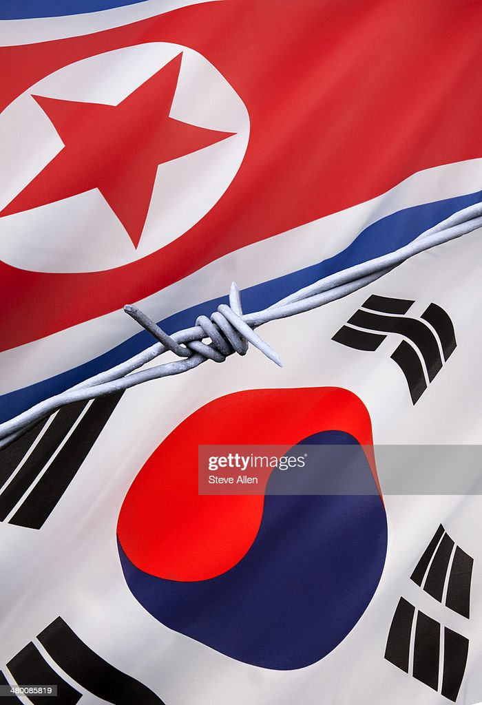 North and South Korea : Stock Photo