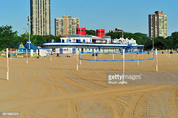 north avenue beach - north avenue beach stock pictures, royalty-free photos & images
