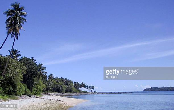 TO GO WITH AFPLIFESTYLEINDIAANDAMANSTOURISM This undated picture shows a view of North Bay Island one of the islands which make up the Andaman...